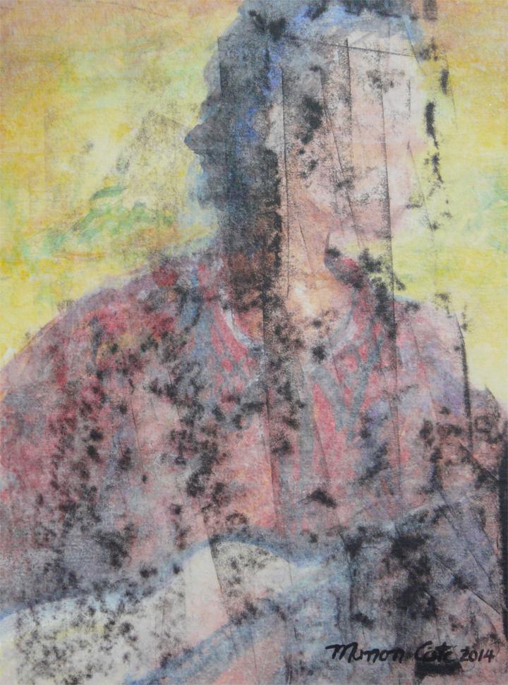 19.Presence-absence ou Le fantome de Felix, 20x15cm