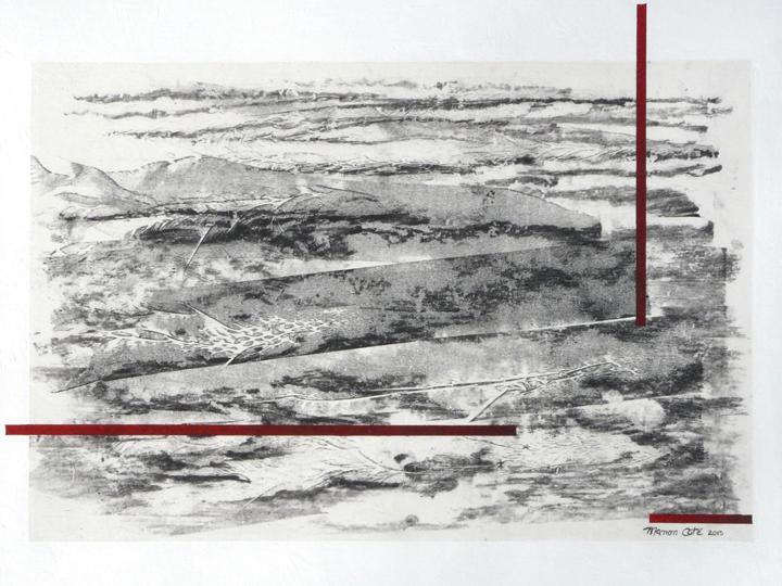 23.Battures, 40x51cm