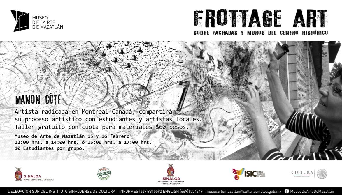 1-Affiche Atelier frottageART