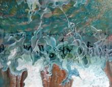 L'instant fragile, gouache, 51x66cm – vendu